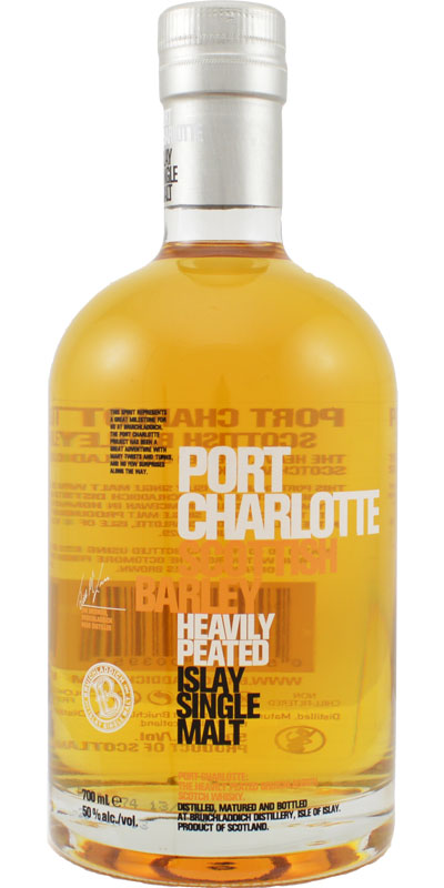Whisky review bruichladdich port charlotte scottish - Bruichladdich port charlotte heavily peated ...