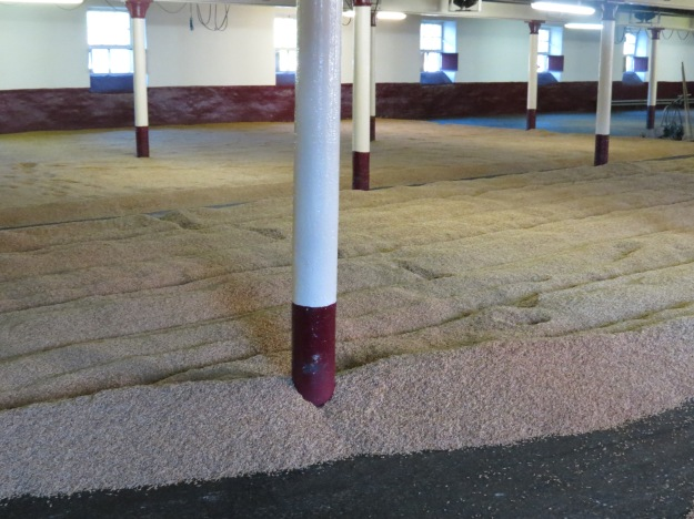 The malting floor at The Balvenie