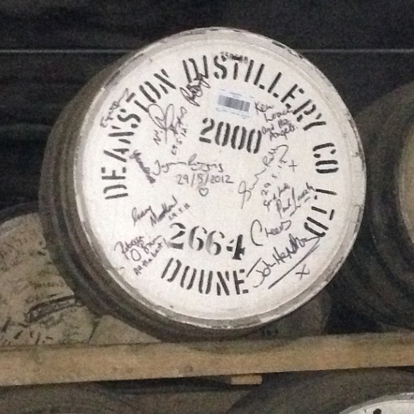 deaston angels share cask