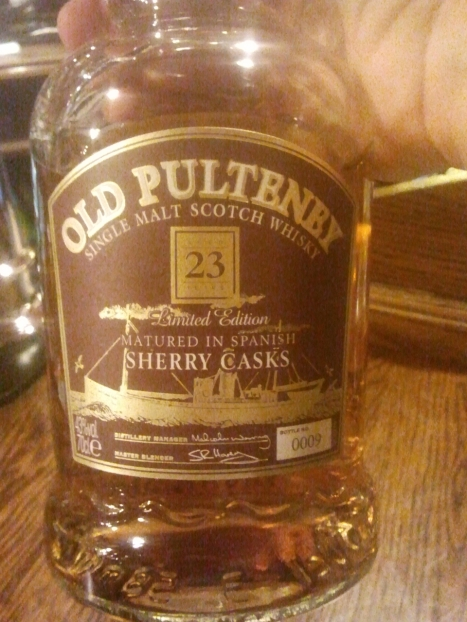 Old Pulteney 23 - Good stuff I tell you!