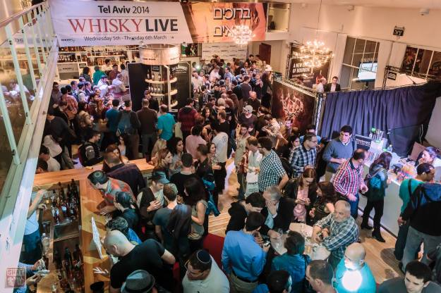 It was packed at whisky Live Tel Aviv 2014
