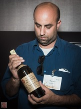 Y.D stand presenting the Shackleton Whisky