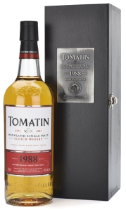 23414 Tomatin 1988 Bottle & Box Lo
