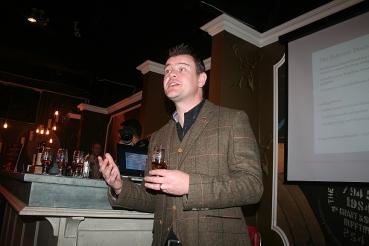 balvenie tasting led by Jonny Cornthwaite