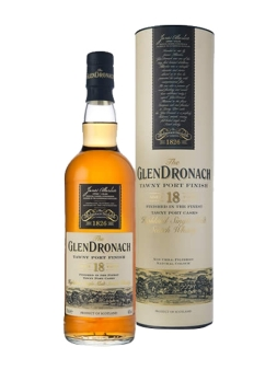 glendronach 18yo tawny port cask finish