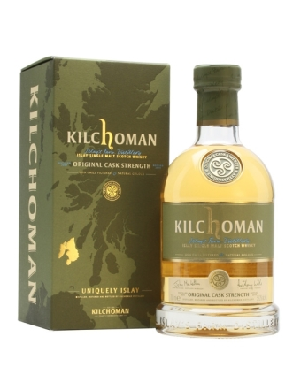 kilchoman original cask strength 2009-2014