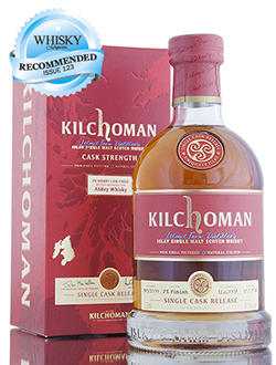 kilchoman single cask release 5yo 2009 PX finish abbey whisky