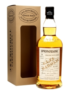springbank 9 yo barolo wood finish