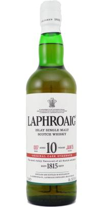 laphroaig 10 cask strength batch 007