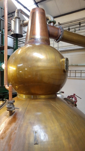 Old Pulteney wash still
