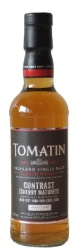 tomatin contrast sherry
