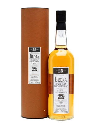 brora 25yo 7th release 2008
