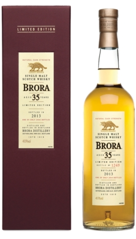 brora 35yo 12th release 2013