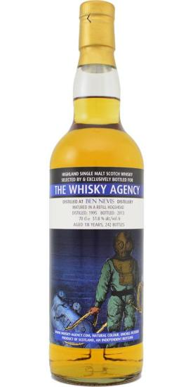 the whisky agency ben nevis 18 1995-2013
