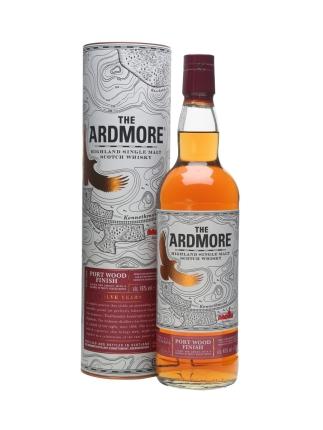 ardmore 12 port wood finish