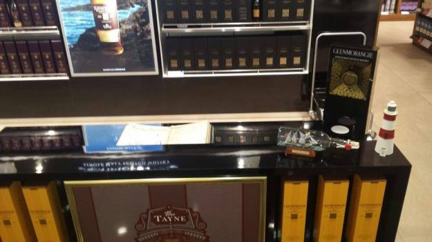 glenmorangie tayne stand and ship