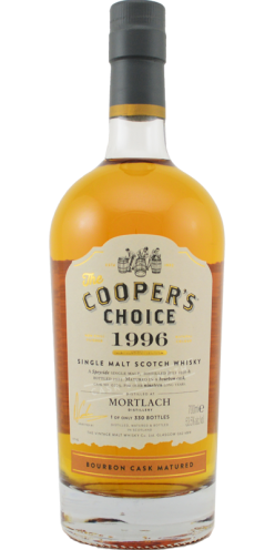 cooper's choice mortlach 1996 19 year old