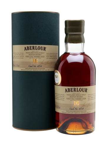 aberlour 16yo single cask 4738 twe exclusive
