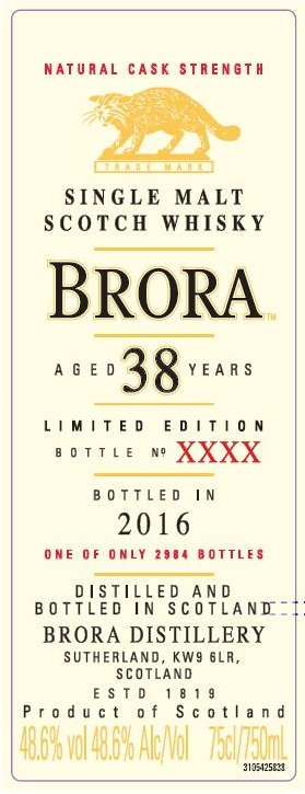 brora 38yo special releases 2016