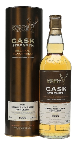highland park 1999 G&M cask strength for TWE