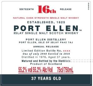port ellen 1978 37yo special releases 2016
