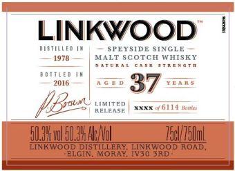 linkwood 37 SP 2016