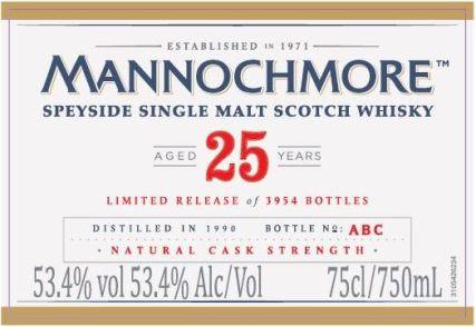 mannochmore 25 SP 2016