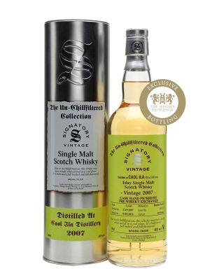 caol ila 2007 8 year old signatory for TWE