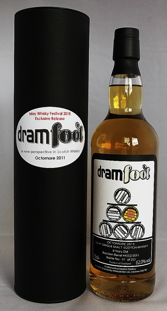 Octomore 2011 6 Year Old Dramfool (For Feis Ile 2018) Review