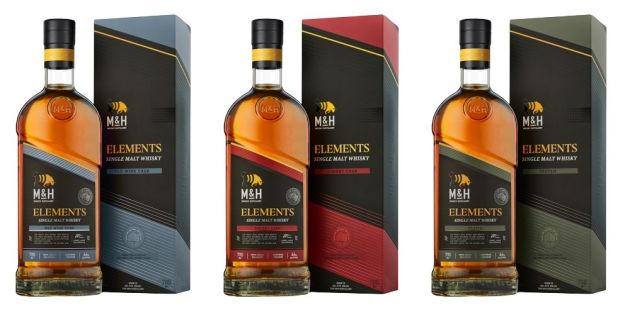 M&H Elements Red Wine Cask (46%)