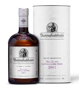 Bunnahabhain 2001 Marsala Cask Finish